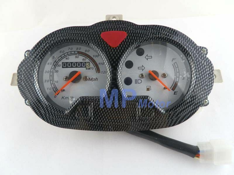 gy6 50cc 125cc scooter moped speedometer light gas gauge vento keeway cpi b08 ebay. Black Bedroom Furniture Sets. Home Design Ideas