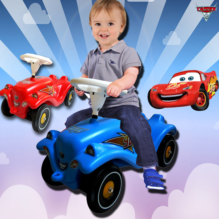 For Boys Toy Cars To Ride In : Disney cars mcqueen kids baby toddler boy swing slider