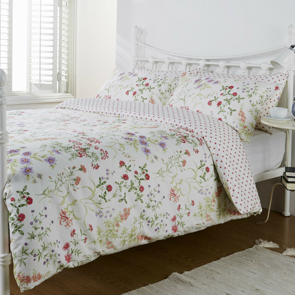 pure opulence jessica summer meadows floral bed linen. Black Bedroom Furniture Sets. Home Design Ideas
