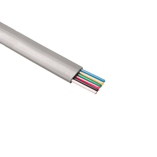 Flat Conductor Cable : Eagle ft conductor modular telephone cable flat