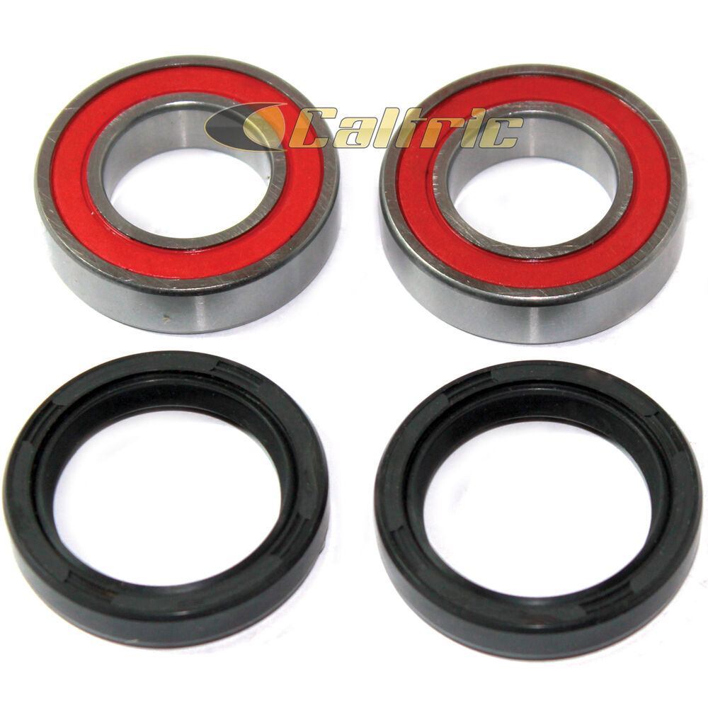 Service manual front wheel ball bearings seal front for Ball honda service