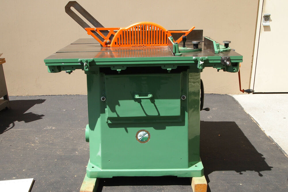 ... 4RT Table Saw w/Standard Rolling Table (Woodworking Machinery) | eBay