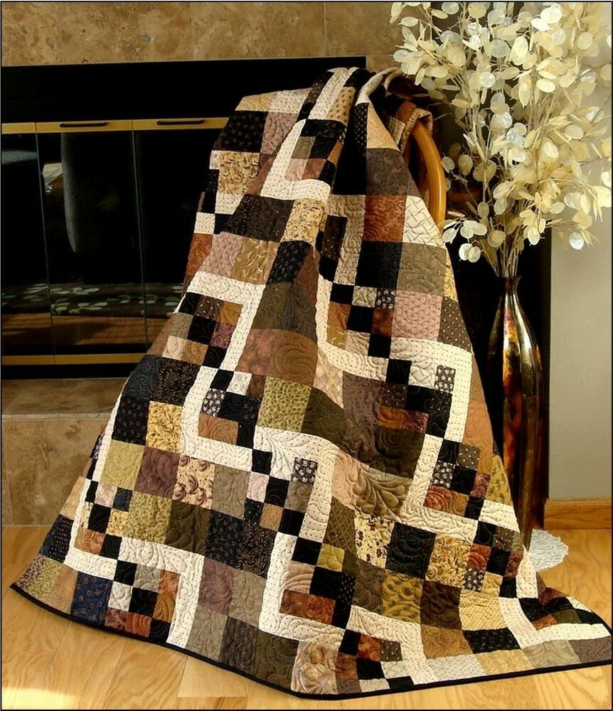 Simply Delightful Quilt Pattern Fast Very Easy Charms