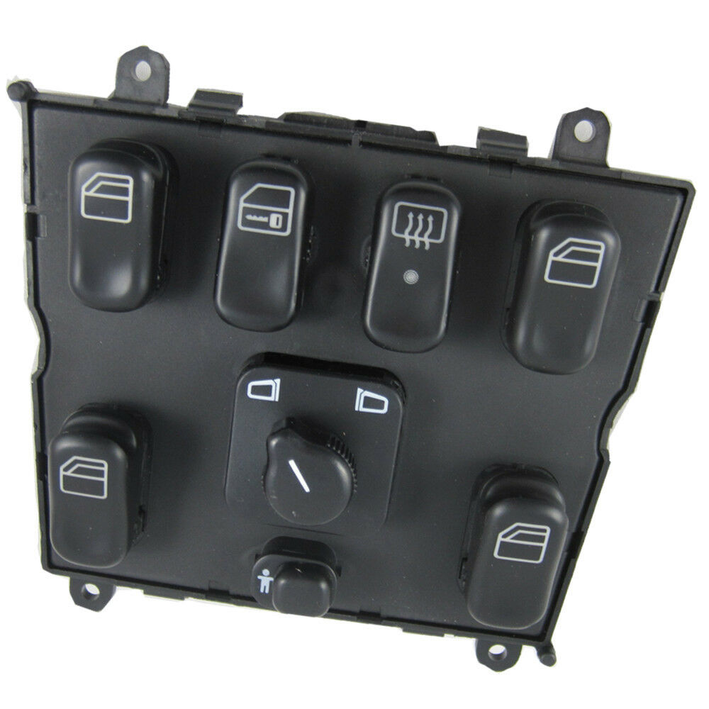 New electric power window master control switch for 1998 for Mercedes benz window switch