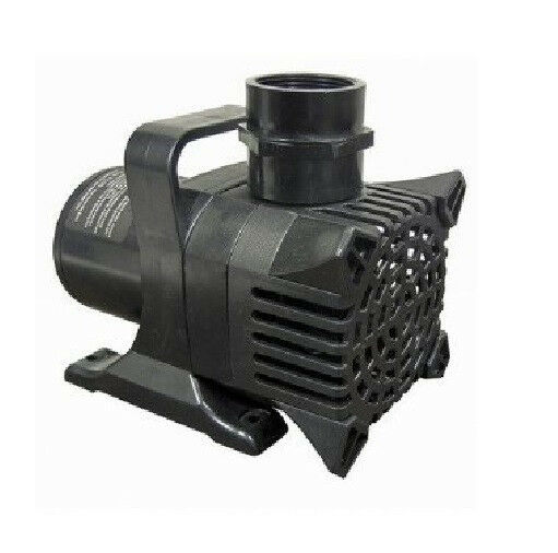1465 gph water pump aquarium koi pond fountain sump new for Koi fish pond water pump