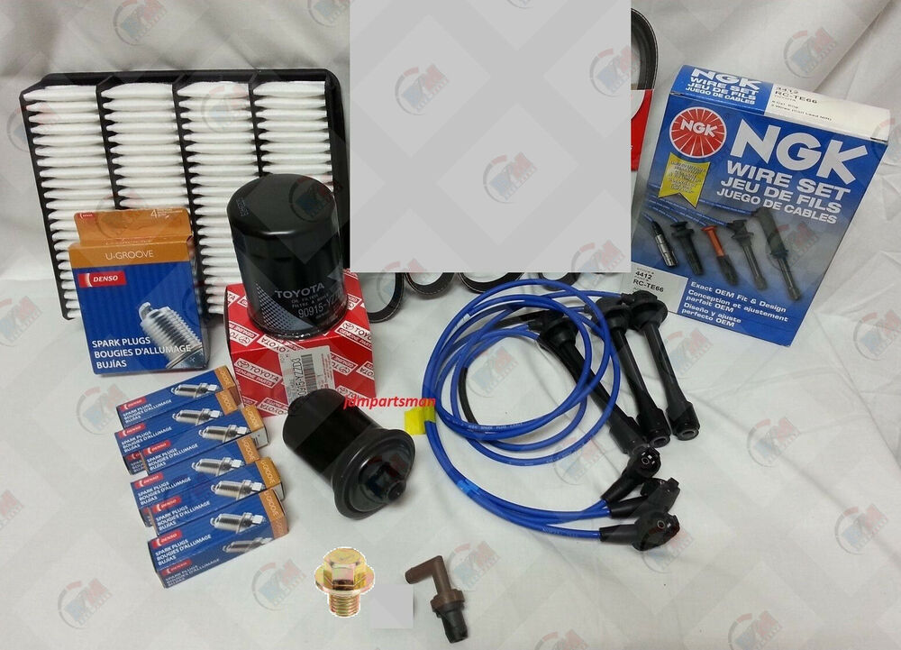 Ngk Wire Spark Plugs Air Fuel Oil Kit 96 02 Toyota 4runner