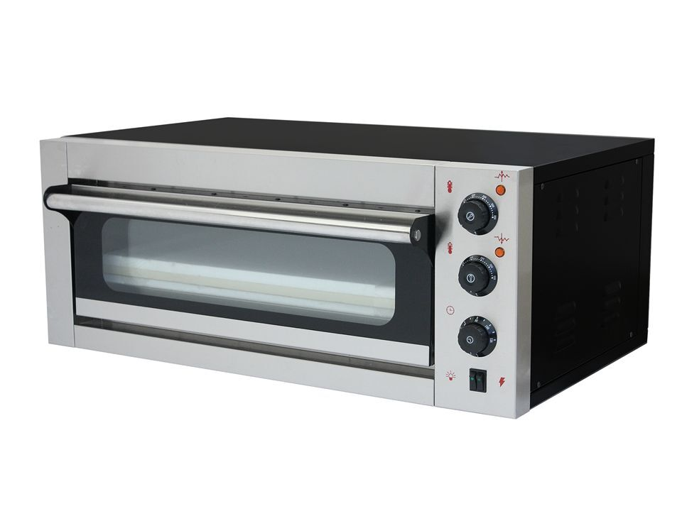 Commercial Electric Pizza Oven ~ New large commercial electric single deck pizza oven cooks