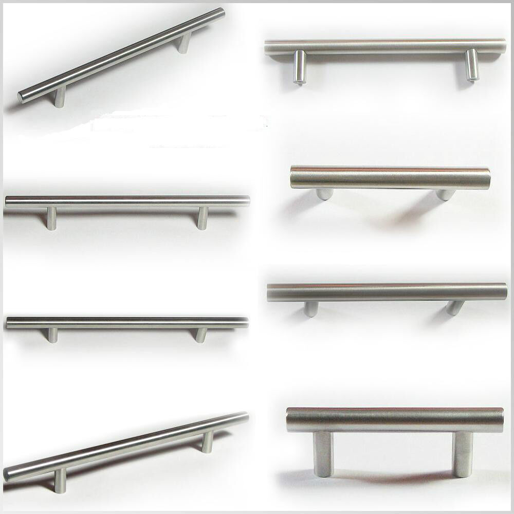 bar pulls for kitchen cabinets bar pull kitchen cabinet handle brushed nickel free 7593