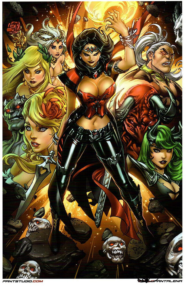 The Unvarnished Tales of the Brothers Grimm: A ... |Grimm Fairy Tales Original Art