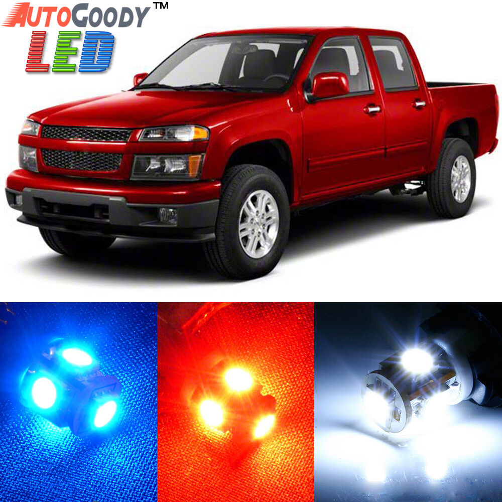 10 X Premium Xenon White Led Lights Interior Package Upgrade For Chevy Colorado Ebay