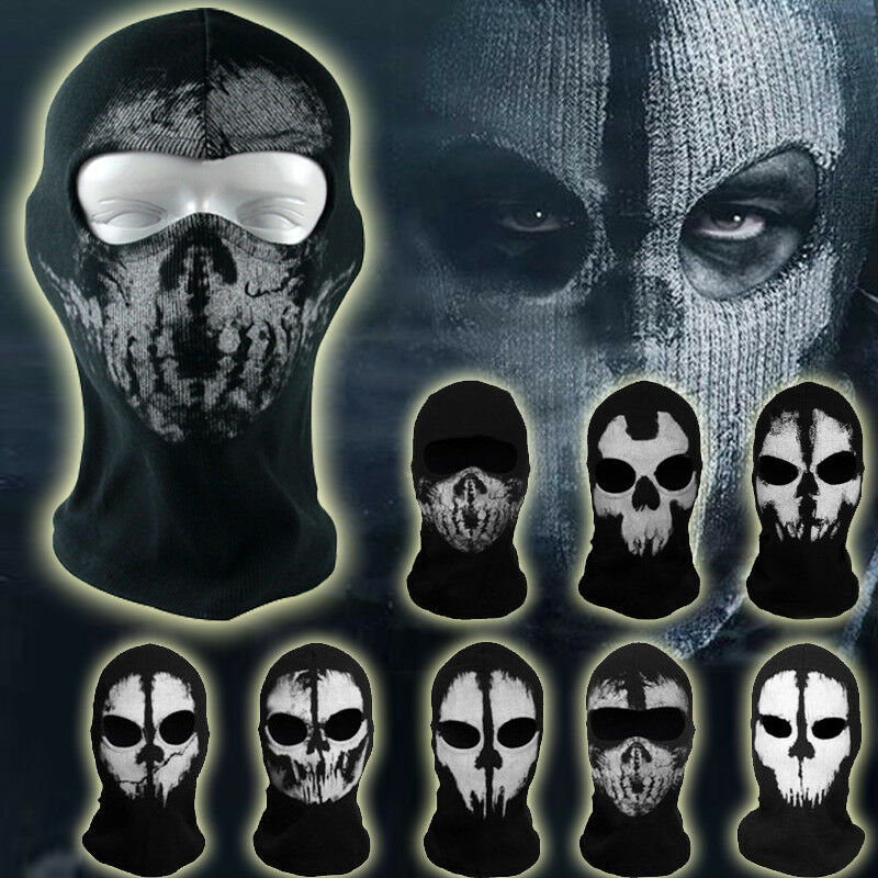 Call of Duty Ghost Balaclava Motorcycle Cycling Paintball ...