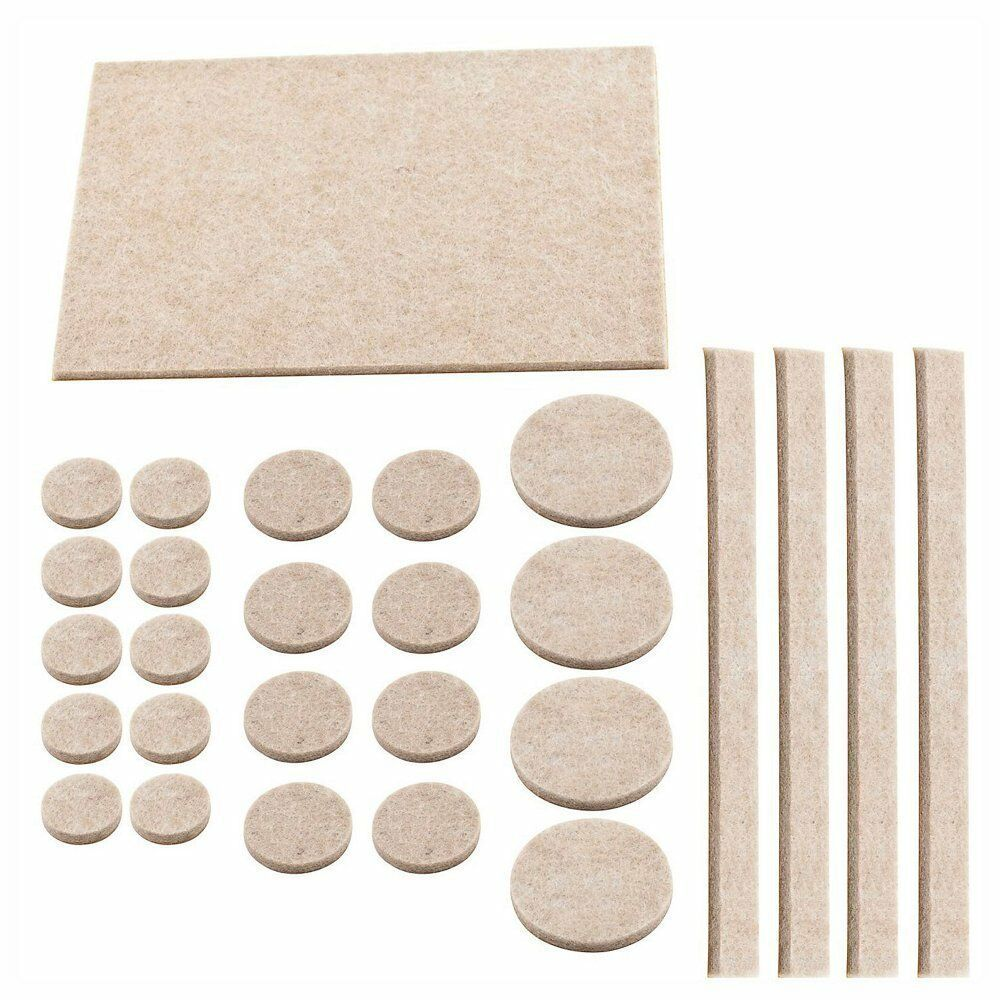 Heavy duty felt pads floor furniture protector large self for Wood floor protectors