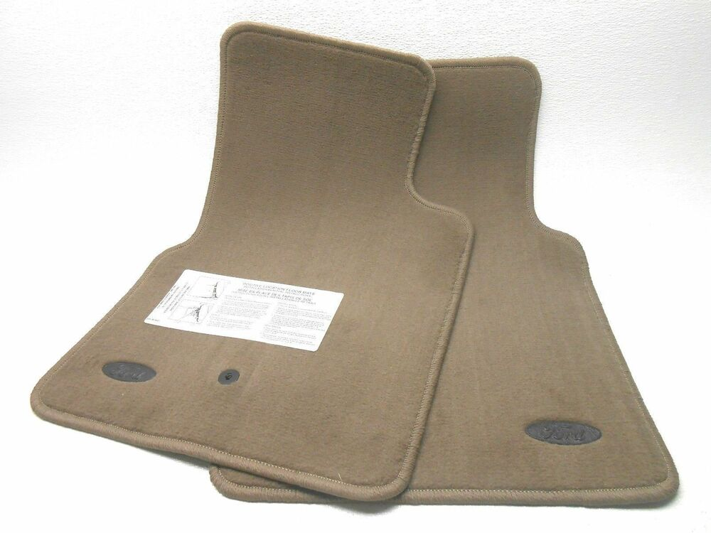 Nos New Oem Ford Crown Victoria Floor Mats Front Dark