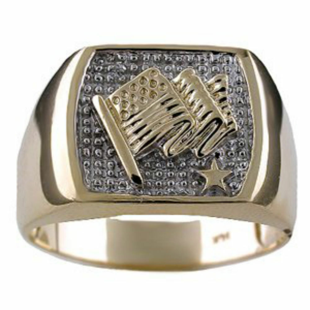 mens diamond ring sterling silver or gold plated silver. Black Bedroom Furniture Sets. Home Design Ideas