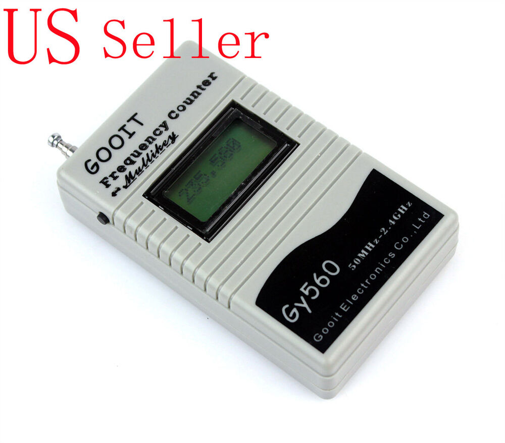 Radio Frequency Counter : For way radio walkie talkie gy portable handheld