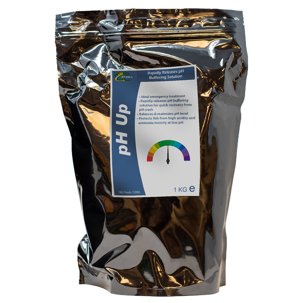 Koi pond care hydra ph up 1kg balance pond water ph level for Koi pond water quality levels