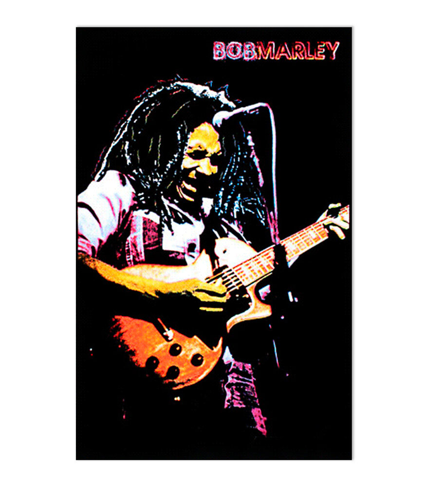 Amazoncom bob marley black light posters