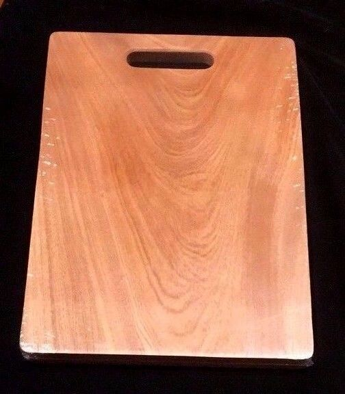 Solid Natural Wood Wooden Kitchen Cutting Chopping Board
