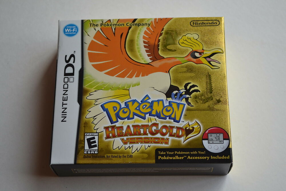 Brand New Factory Sealed Pokemon HeartGold Version ...