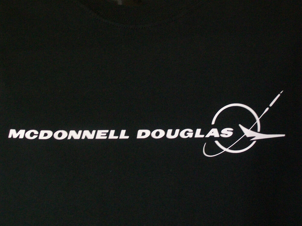 McDonnell Douglas Logo T Shirt 9 Colors Available | eBay