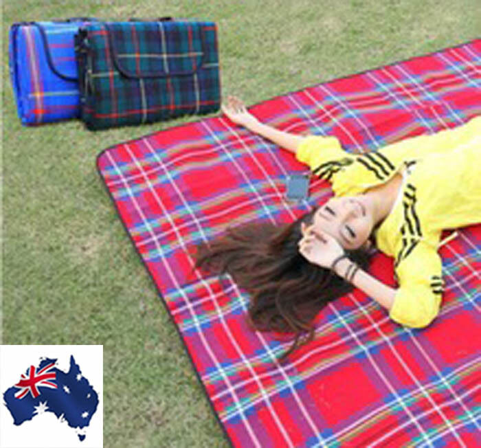 Waterproof outdoor beach camping travel mat picnic blanket for Au maison picnic blanket