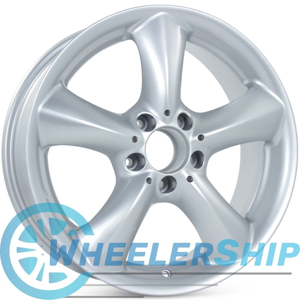 New 17 mercedes front alloy wheel 2003 2004 2005 c230 c320 for Mercedes benz c240 rims