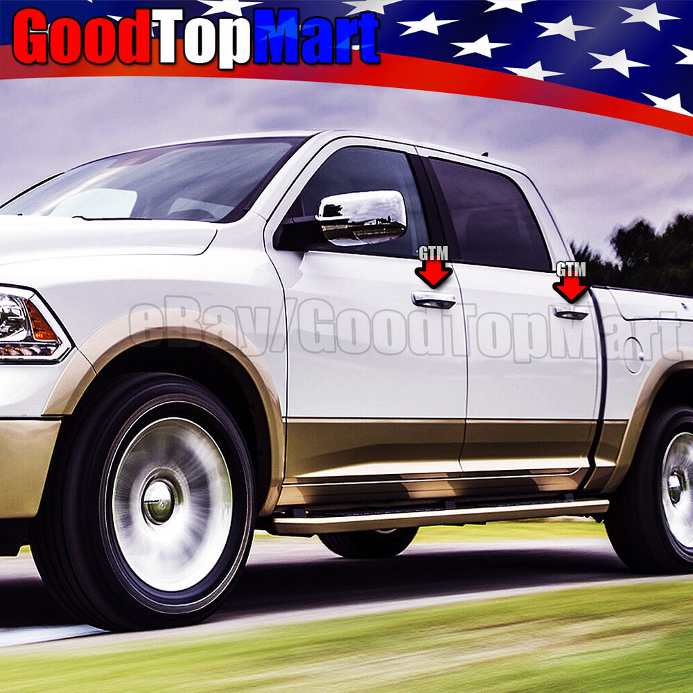 For 2009 2013 2014 2015 2016 Dodge Ram 4 Chrome Door