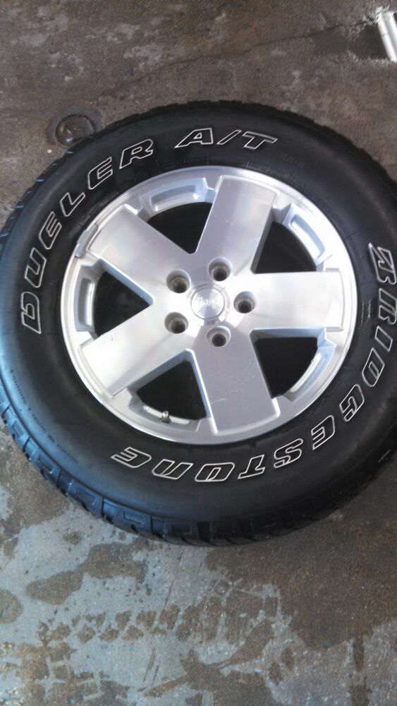 Jeep Wrangler Rims And Tire Packages >> 2009 JEEP WRANGLER WHEELS AND TIRES | eBay