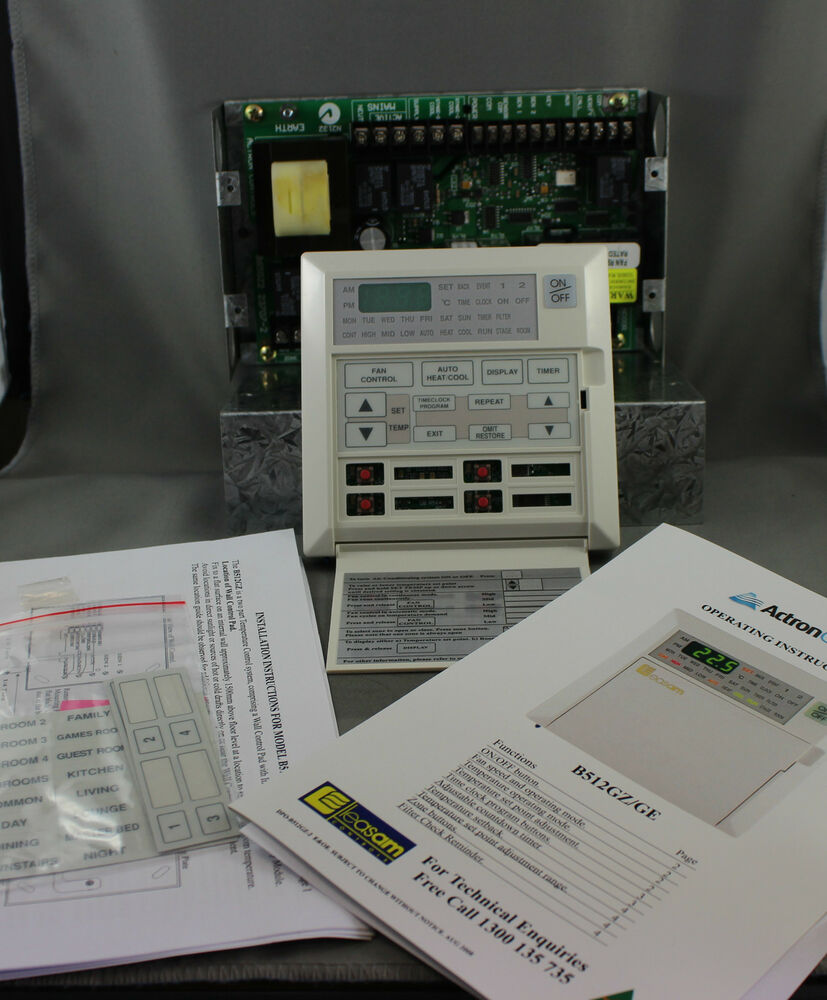 Actron Ducted Air Conditioner Controller Leasom B512gz Ebay