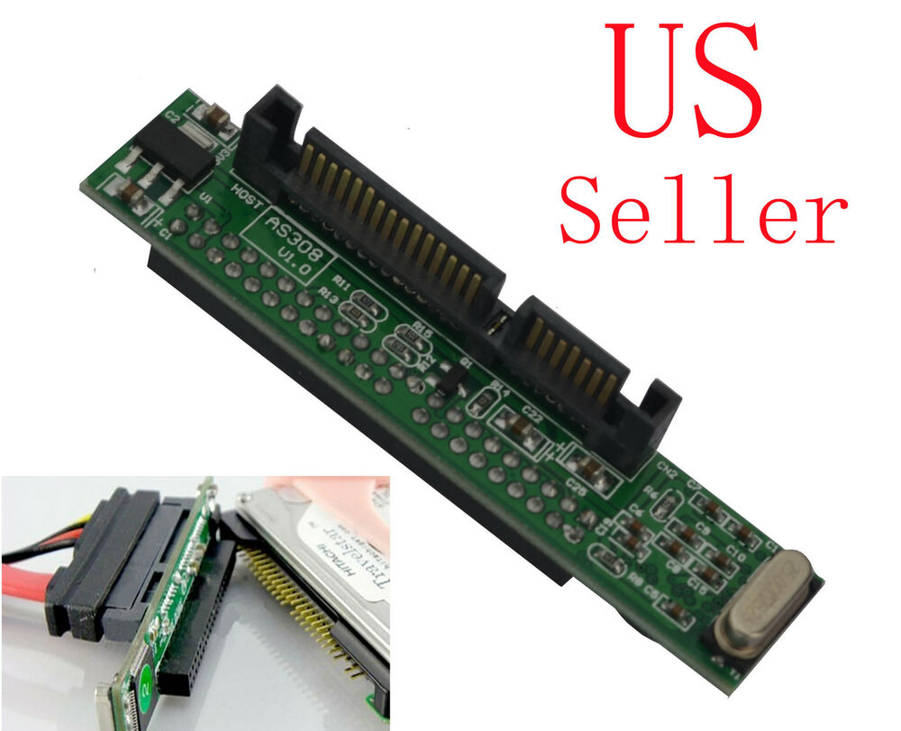 Mini 7 15 Pin Sata To 2 5 U0026quot  Ide Female Adapter Fr Laptop