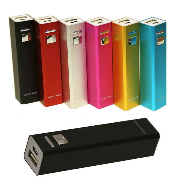 external portable power bank battery charger for mobile cell phone 2600mah ebay. Black Bedroom Furniture Sets. Home Design Ideas