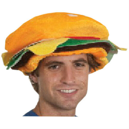 23 Best Images About Silly Hat Things On Pinterest: Silly Hat For Summer BBQ Fun Hamburger Costume Hat