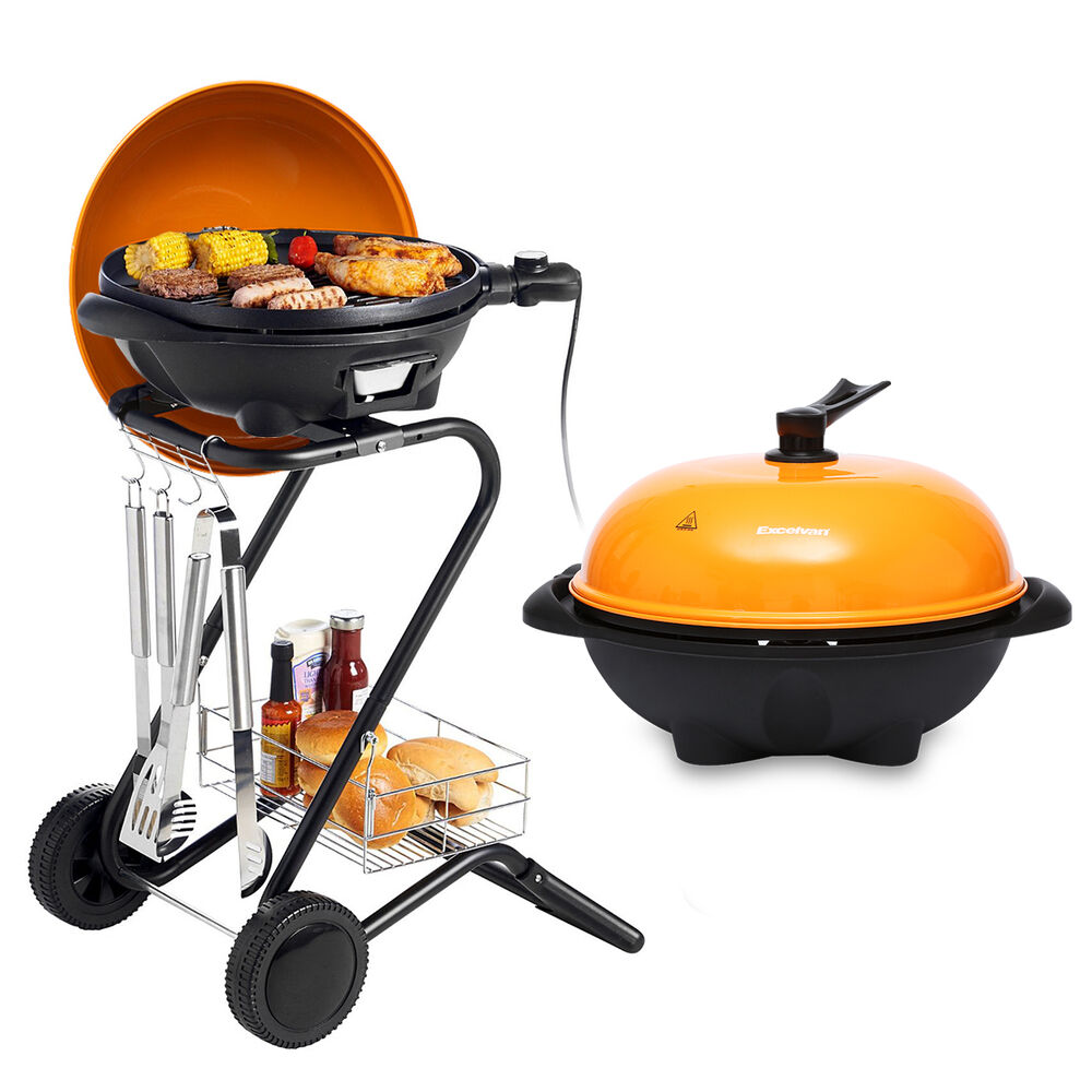 Small Electric Grills Outdoor ~ W electric bbq grill smokeless non stick barbecue