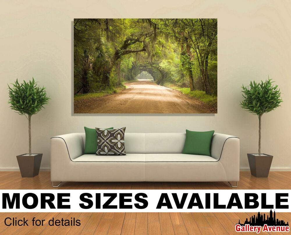 home decor stores in charleston sc wall canvas picture print charleston sc road forest 13314
