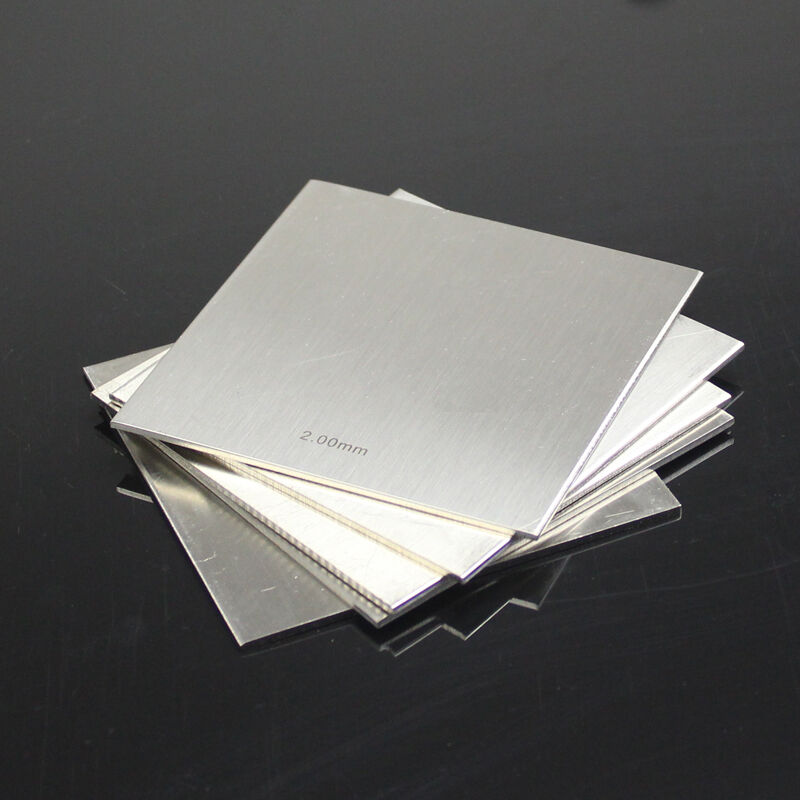 1pcs 304 Stainless Steel Fine Polished Plate Sheet 2mm X