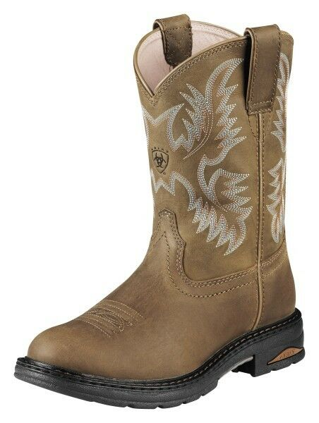 Ladies Ariat Tracey Pull On Composite Toe Dusty Brown Work