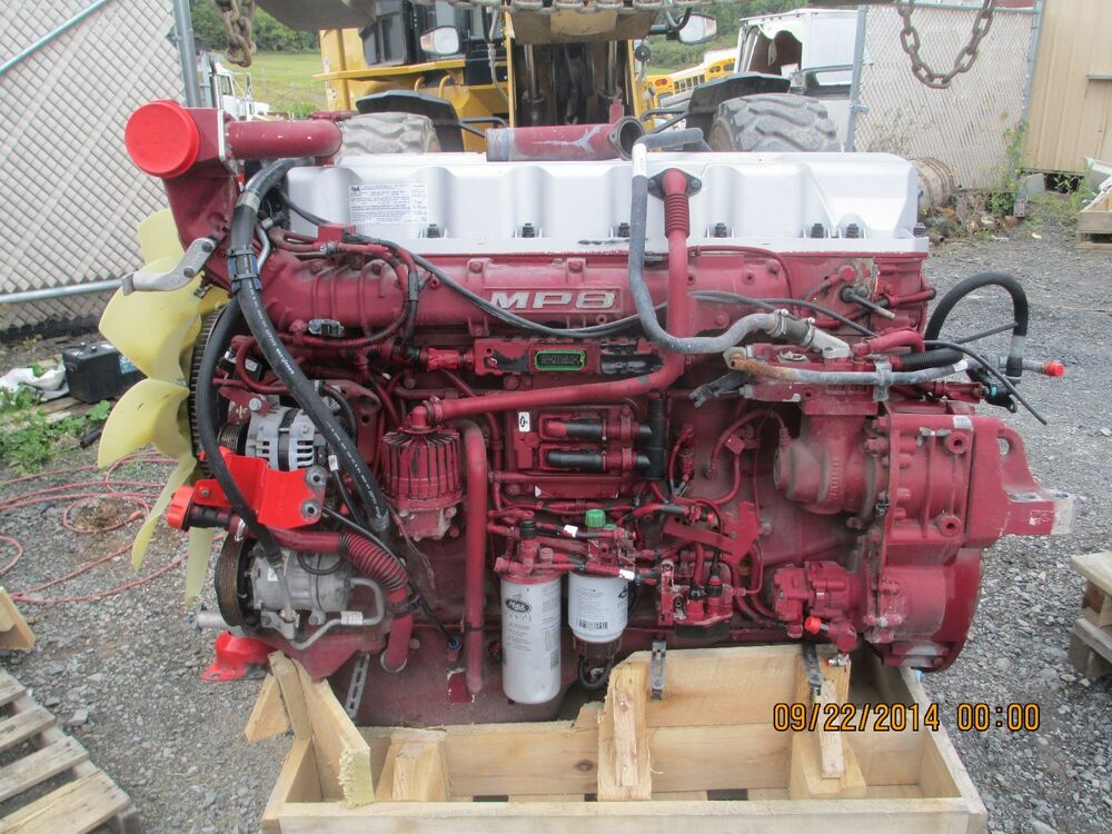 2013 Mack Mp8 Turbo Diesel Engine  445hp  175 000 Miles