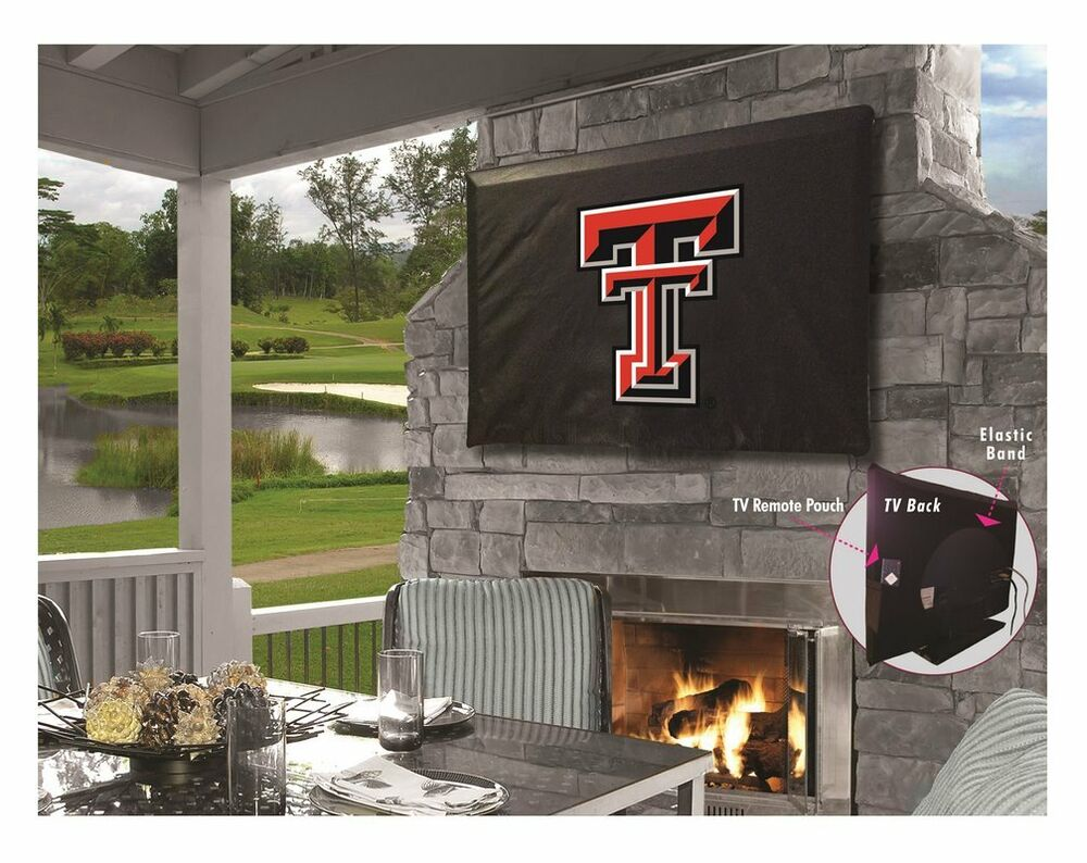Details About Texas Tech University Outdoor Tv Cover W Red Raiders Logo
