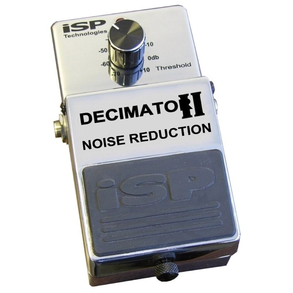 isp technologies decimator ii noise reduction eliminator guitar effect pedal v2 898182001287 ebay. Black Bedroom Furniture Sets. Home Design Ideas