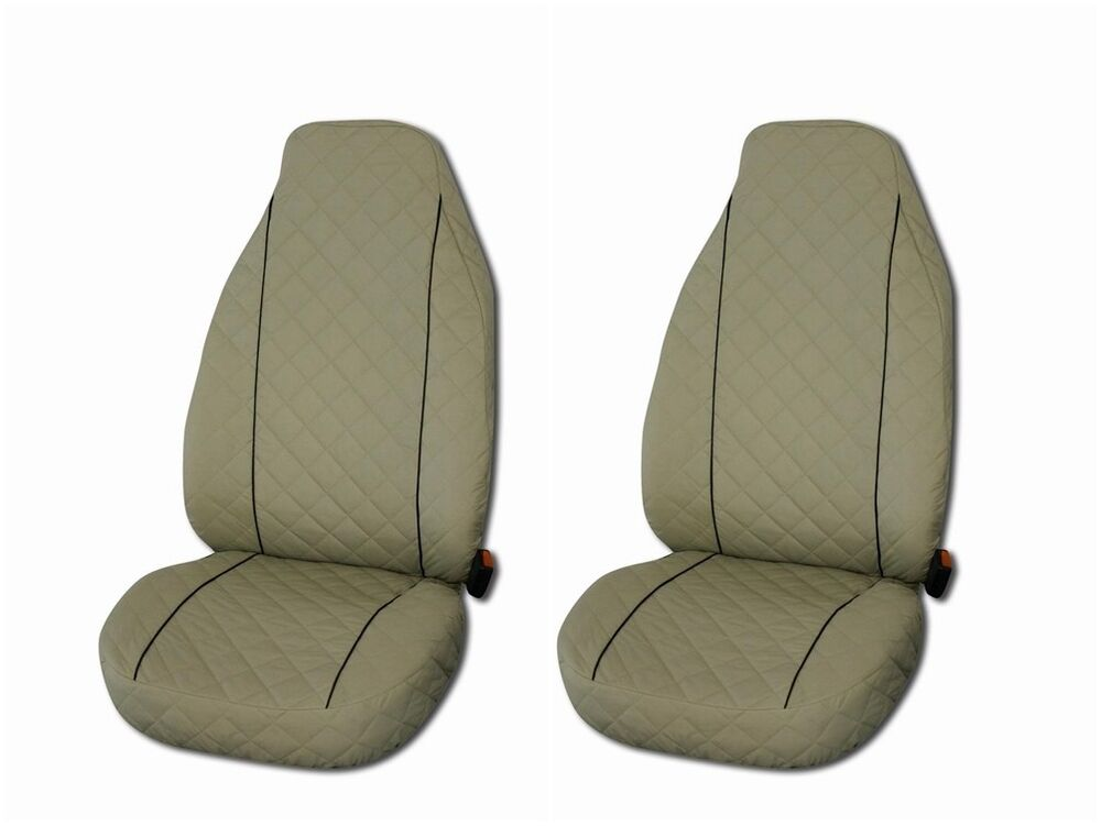 front seat covers for mercedes benz a b c e class vito viano sprinter 2 piece ebay. Black Bedroom Furniture Sets. Home Design Ideas