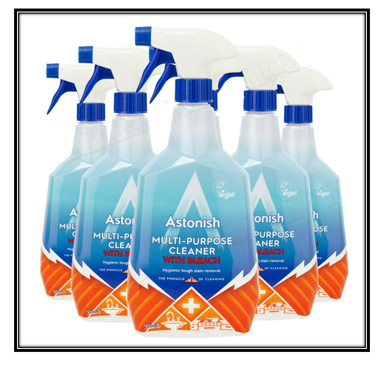 Astonish Cleaner: Astonish Multi-Surface Cleaner With Bleach Power 6 X 750ml