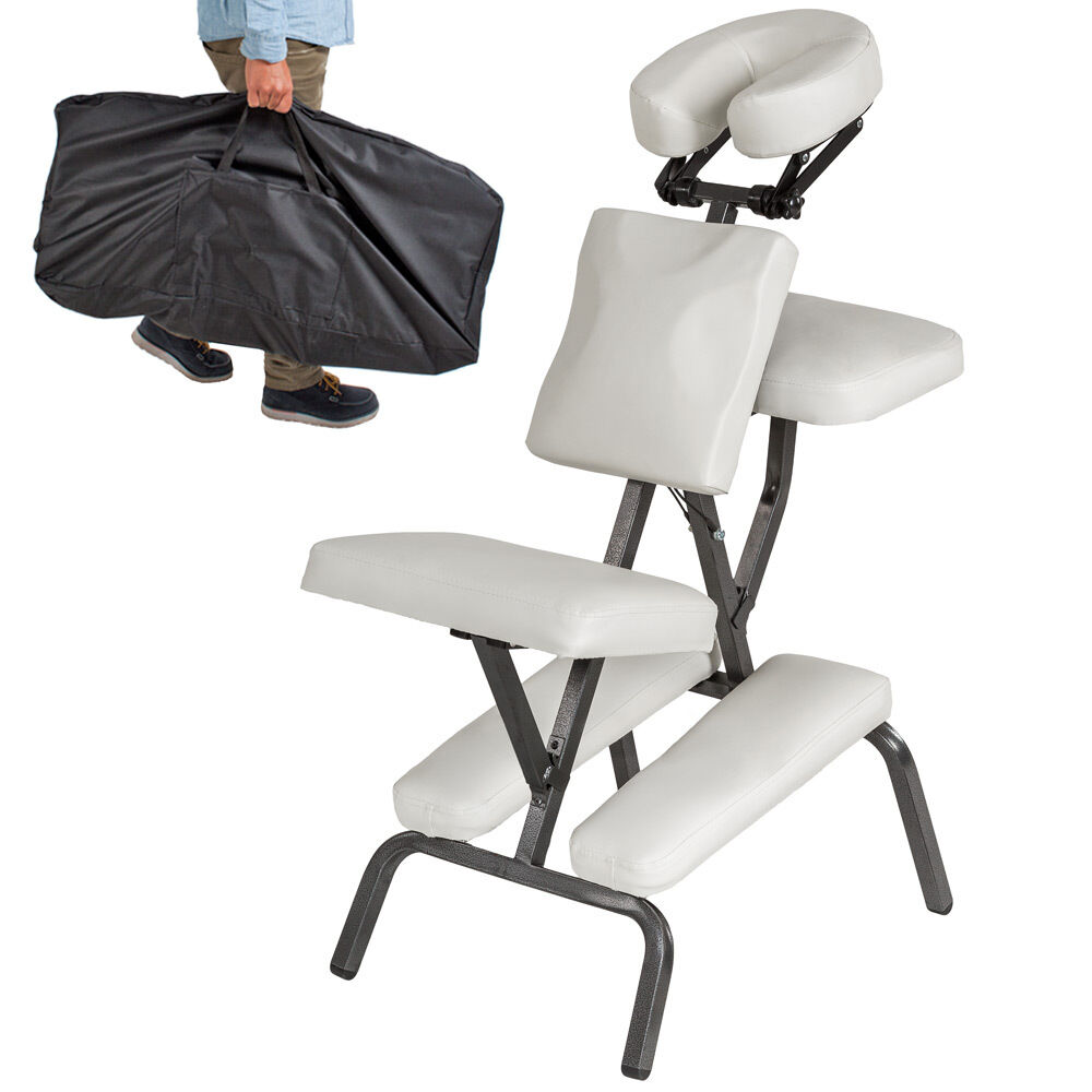 Portable folding massage tattoo chair therapy beauty stool for Portable beauty chair