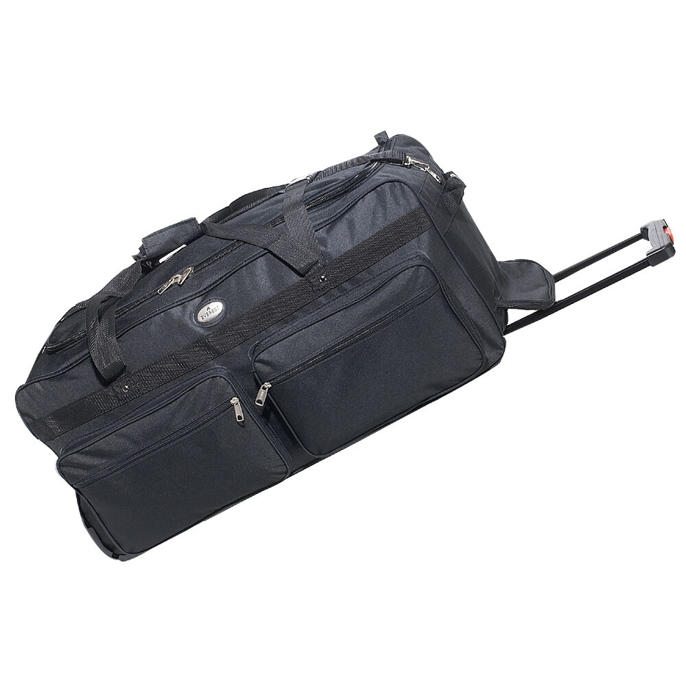 Everest 36-Inch Wheeled Rolling Duffel Bag Suitcase Case