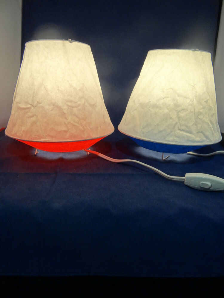 Ikea Table Lamp Desk Light Living Room Bedroom Red Or Blue