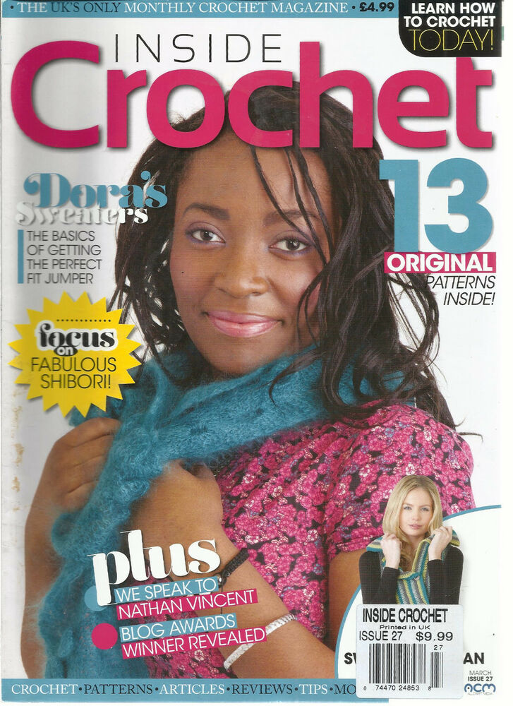 Learn How To Crochet Magazine : INSIDE CROCHET, ISSUE, 2012 ( LEARN HOW TO CROCHET TODAY ! * DORA ...