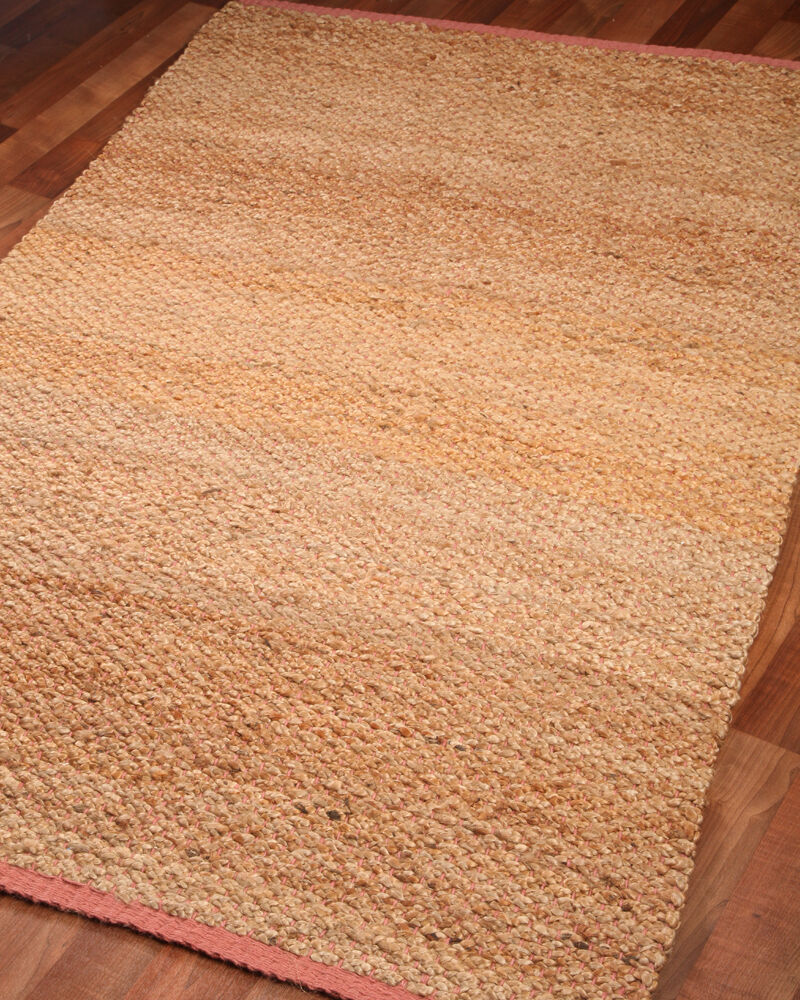 Arizona 100 Natural Fiber Jute Reversible Rug Hand Woven