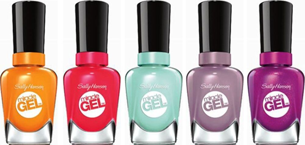 Sally Hansen Miracle Gel For Nails Choose Shades Ebay