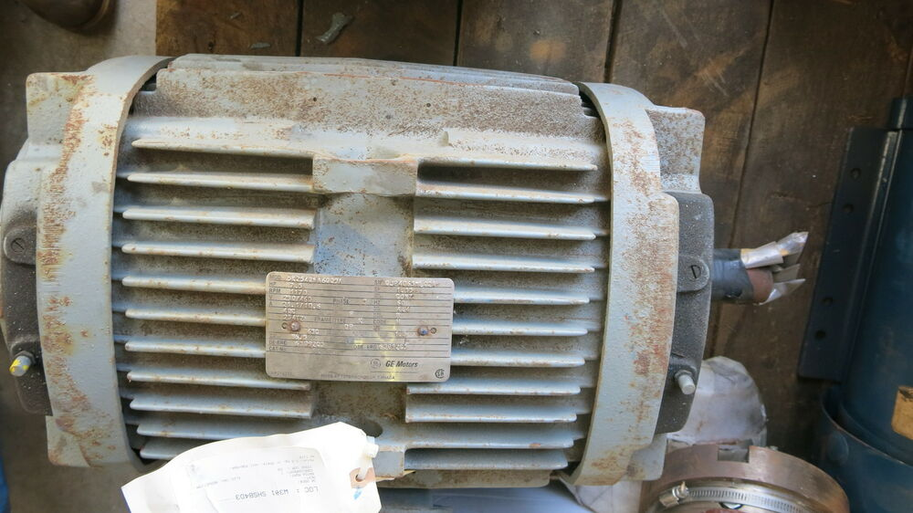 Westinghouse 7 5 hp 3 phase electric motor used ebay for 7 5 hp 3 phase motor
