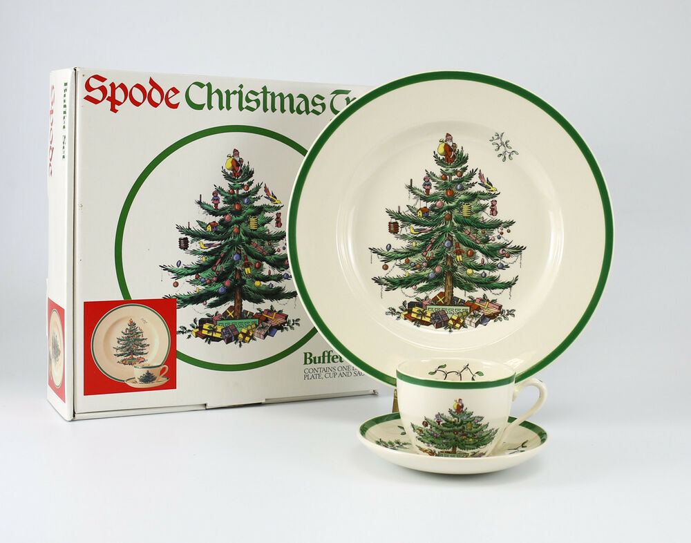 Spode Christmas Dishes