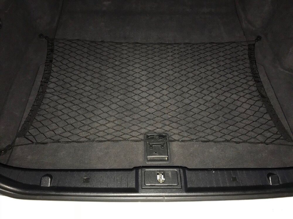 Floor style trunk cargo net for mercedes benz e class 2003 for Mercedes benz car trunk organizer